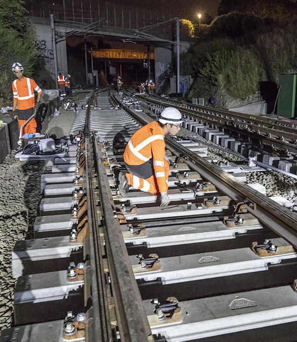 Dédié aux appareils de voies dans toute la France