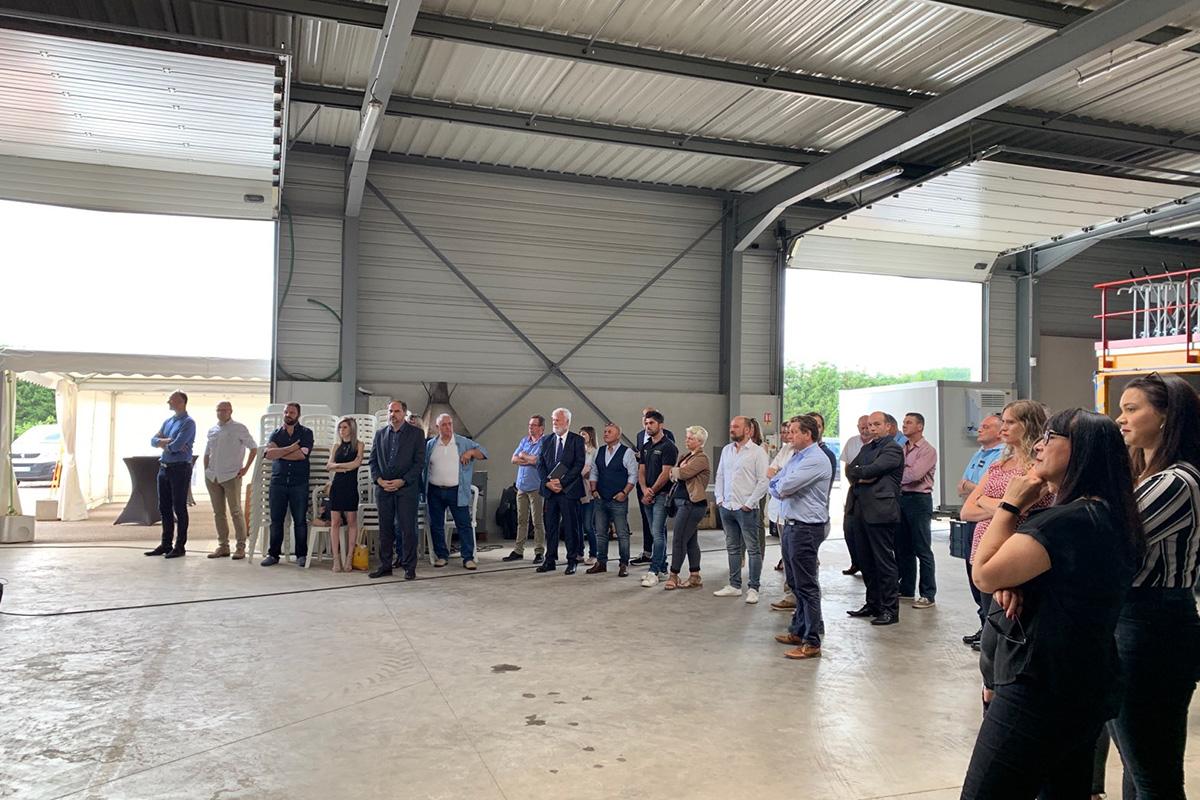 Inauguration des nouveaux locaux de France Aiguillages Services